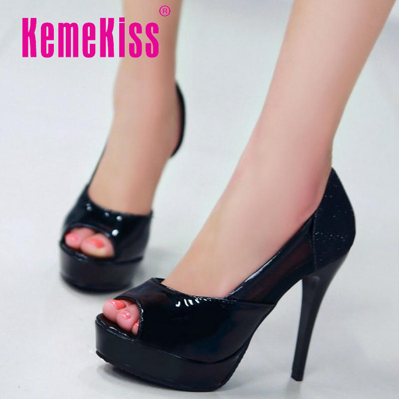 women high heel shoes stiletto party peep open toe quality footwear brand fashion heeled pumps heels shoes size 34-43 P17994<br><br>Aliexpress