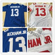 #13 Odell Beckham JR Jersey Elite American Football Jerseys Blue White Cheap Stitched Football Jersey(China (Mainland))