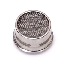 PHFU!Kitchen/Bathroom Faucet Sprayer Strainer Tap Filter---White and Silver(China (Mainland))