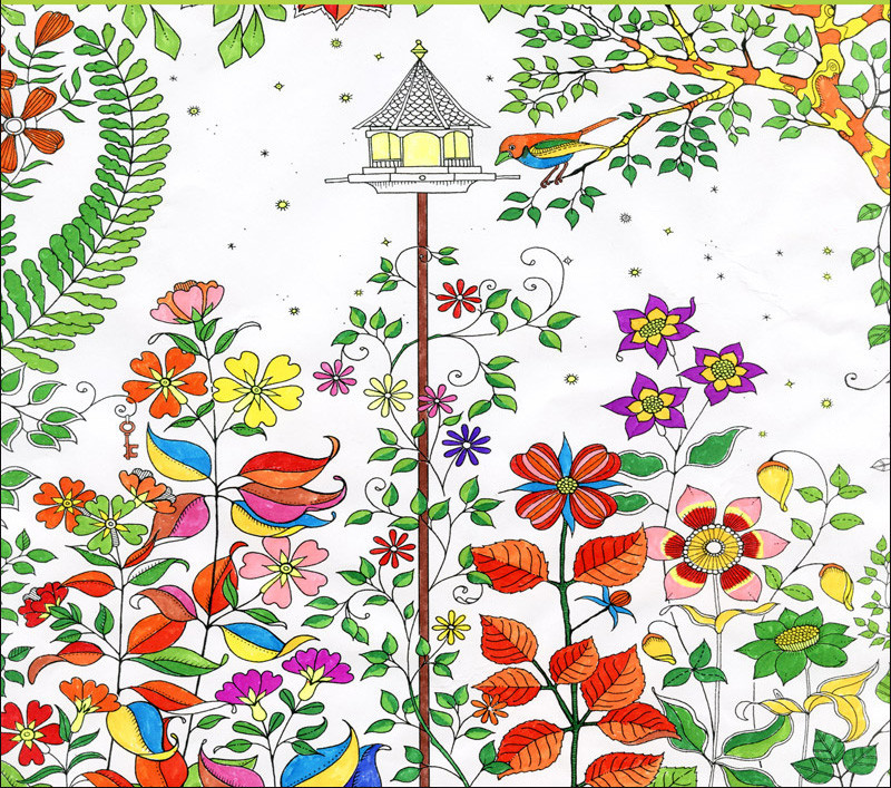 Wholesale 50pcs Secret Garden Drawing Color Book An Inky Treasure Hunt Children Adult Relieve
