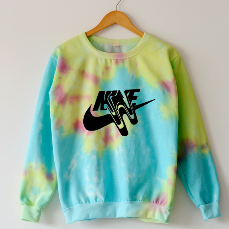 Harajuku galaxy sweatshirt 2014 fashion tie dye hoodie for Nike tie dye shirt and shorts