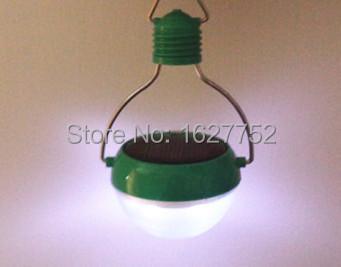 High Quality Environmental-friendly Household Tools Solar Energy Light Portable Hang Light LED Light LED Bulbs Outdoor Free Ship(China (Mainland))