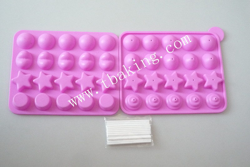 Cake Pop Silicone Mould Set