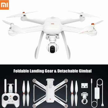 Original XIAOMI Mi Drone HD 4K WIFI FPV 5GHz Quadcopter 6 Axis Gyro 3840 x 2160p / 30fps RC Quadcopters with Pointing Flight