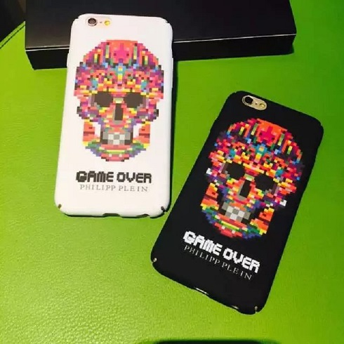 Dirt-resistant Top Fashion Pp Tide Luminous Skull Phone Case,hard Imd Cover For Iphones 6/6s 6 Plus/6s Plus