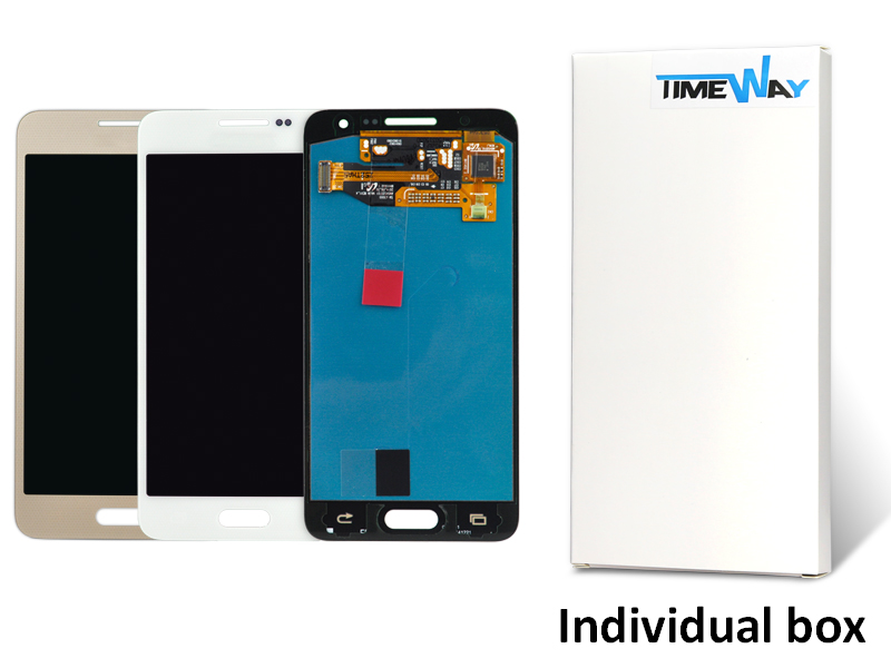 alibaba china 100% Original LCD Display Digitizer Touch Screen Assembly clone For Samsung Galaxy A3 A300 blue Replacement(China (Mainland))