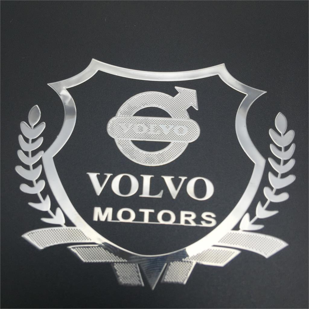 2015 case for car styling volvo xc90 xc60 s60 v70 metal for Porte badge 60 x 90