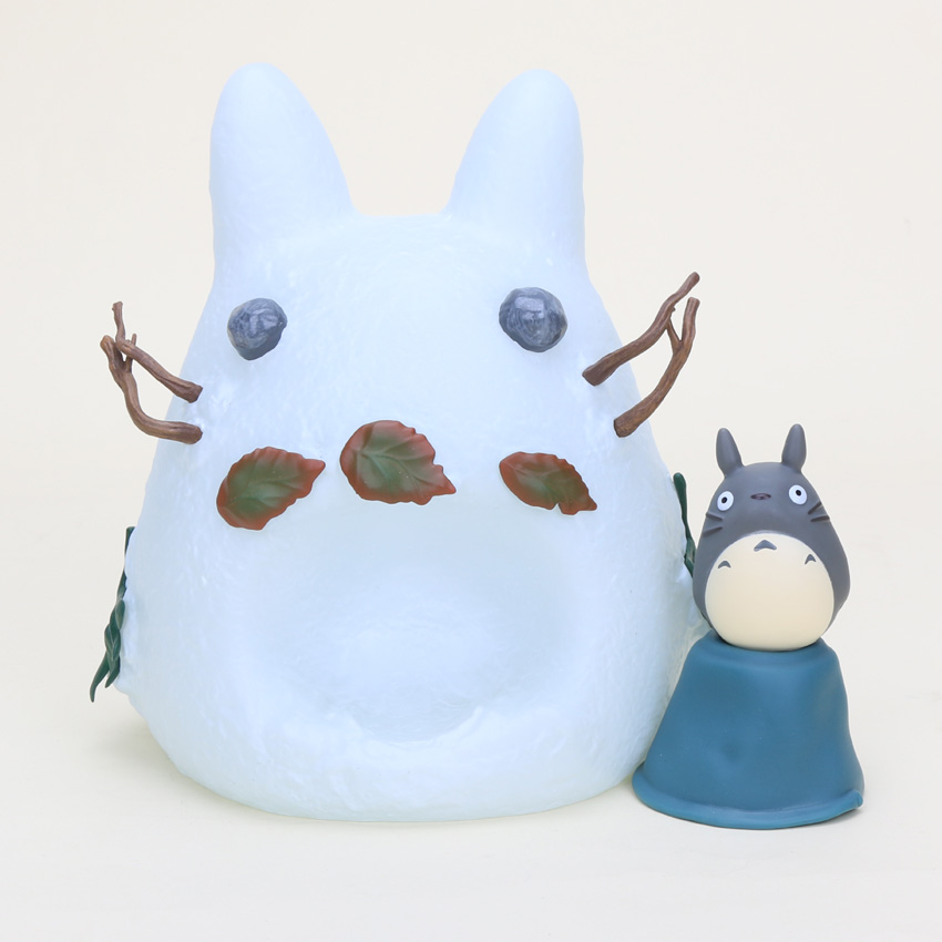 1 piece 18cm Miyazaki Hayao PVC White Totoro Action Figure Collection Model children