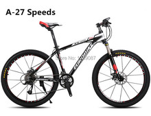 X5 Pro New 21/27 Speeds Man Mountain Bike Bicycle Black White Plus MTB