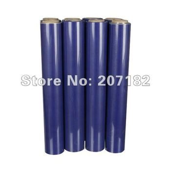 Free Shipping 0.5*10m Blue PU Vinyl Transfer Film,Cutting Plotter Film, Heat Transfer Film,Transfer Film