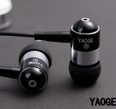 Yaoge-060 subwoofer ear earphones mp3 mp4 mobile phone computer general earphone bass high-qaulity headset - Earphones and Headphones store