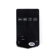 """4GB 4G Slim 1.8"""" LCD TFT MP3 MP4 Player With FM Radio Function Black Color(China (Mainland))"""