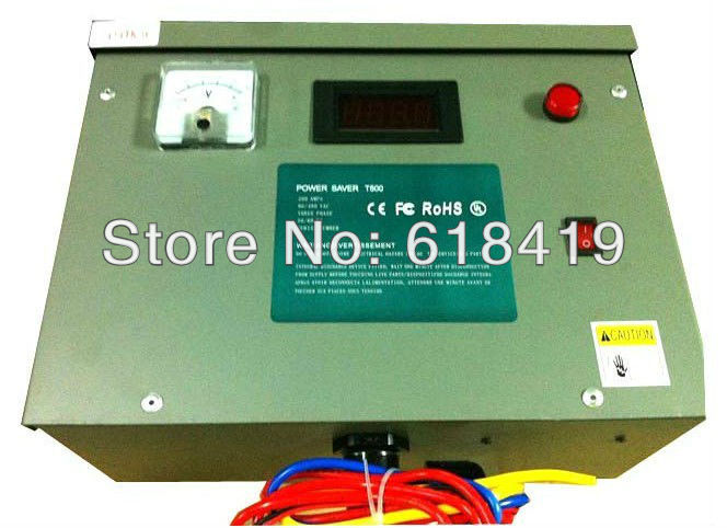 300KW three phase Power saver for industry and factory, electricity energy saving device with Amp and voltage display(China (Mainland))