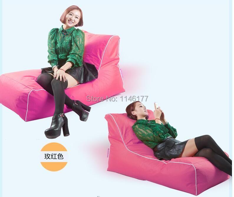 2016 new creative beanbag tatami single folding chair recliner sofa red roses Ywxuege(China (Mainland))