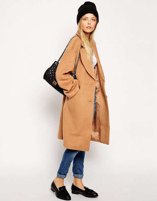 Brown Wool Coats Ladies