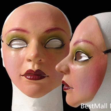 Female mask latex silicone Ex Machina realistic human skin masks Halloween dance masquerade cosplay new Pary  -  HongKong Taimi Tech Store store