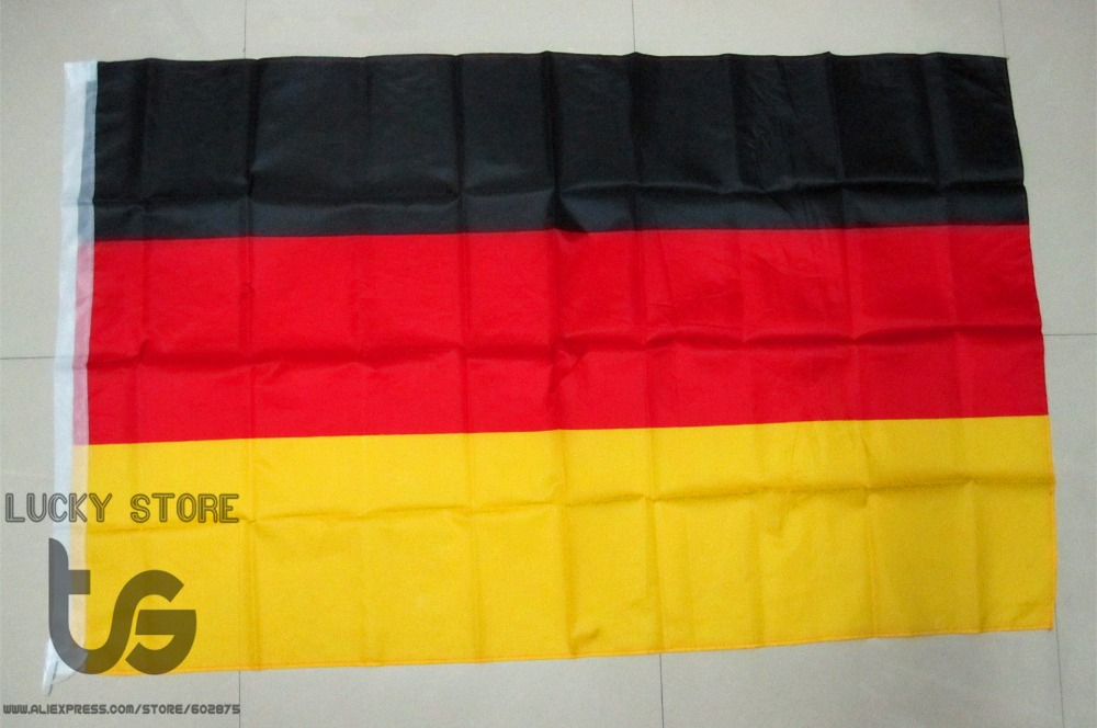 Germany flag Banner Free shipping 90*150cm Hanging National flag Germany Home Decoration Germany flag(China (Mainland))