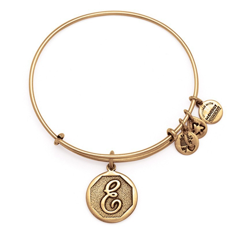wholesale alex and ani letters from a to m expandable