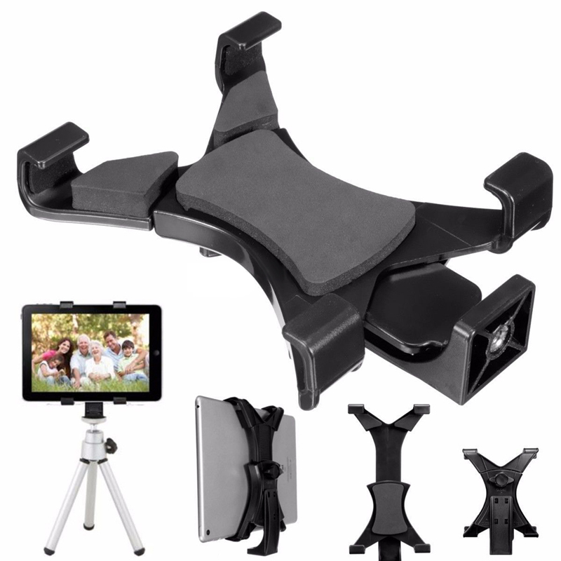 "Universal Tripod Mount Holder Clamp Bracket 1/4""Thread Adapter For iPad Any 7"" to 9"" Diagonal Screen Size Tablet Free Shipping(China (Mainland))"