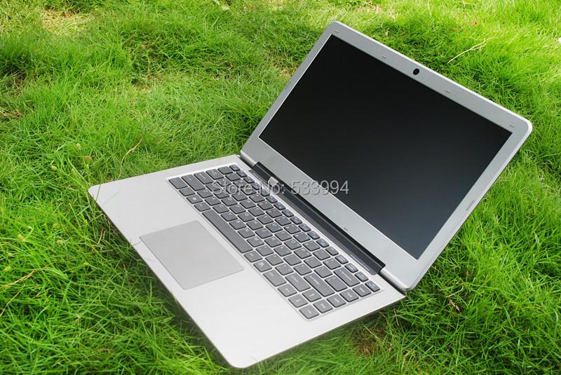 Free shipping high qualtiy 14.1 inch cheap laptop ultra thin Intel J1800/N2840 2.4GHZ 4G/500G notebook computer windows 7/8(China (Mainland))