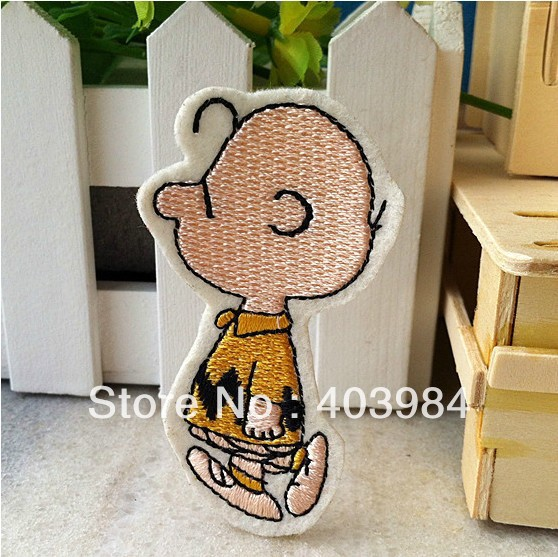 ~10 pcs/Lot Embroidered boy-1 Iron Sew Patch Applique Badge - Mackie Wong's store