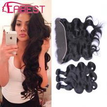 Peruvian Body Wave with Closure, 13*4 Ear to Ear Lace Frontal Closure with Bundles, Peruvian Hair Weave Bundles with Closure