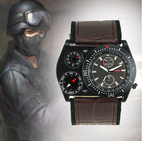 Compass Watch Band Band Quartz Wrist Watch