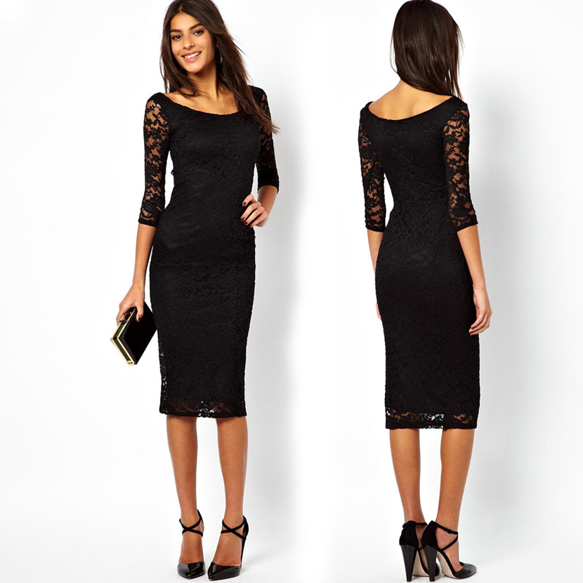 Plus Size Mid Length Party Dresses Plus Size Tops