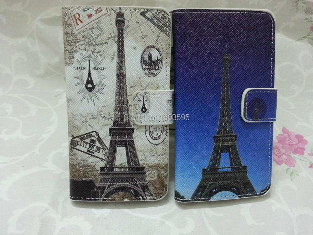 Samsung Galaxy note III 3 N9000 Case Paris Eiffel Tower vintage PU Leather Flip Cover - Wonderful phone holster shop store