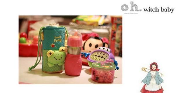 2014 free shipping 2013 new Panic buying Cartoon cloth insulation Cup sets of Feeding Bottle Warmer bag b996 ok