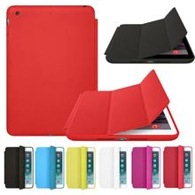 2016 High Quality Smart Case For iPad mini 1 2 3 Retina Slim Stand PU Leather Back Cover Anti Knock Free Shipping #G10(China (Mainland))