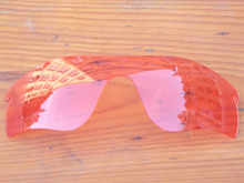 Crystal Pink Replacement Lenses For Radar Path Sunglasses Frame 100% UVA & UVB Protection