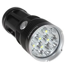 SecurityIng 10000 Lumens Super Bright LED Flashlight Torch Aluminum Waterproof 7 x CREE XML T6 LED Flash Light(China (Mainland))