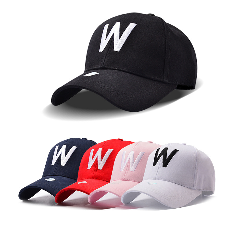 2017 W Letter Embroidery Brand Baseball Cap Snapback Caps Sports Leisure Hats Fitted Casual Gorras Dad Hats For Men Women(China (Mainland))