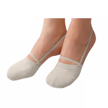 rhythmic gymnastics soft shoes half socks knitted Roupa Ginastica Professional competition sole Shoes protect(China (Mainland))