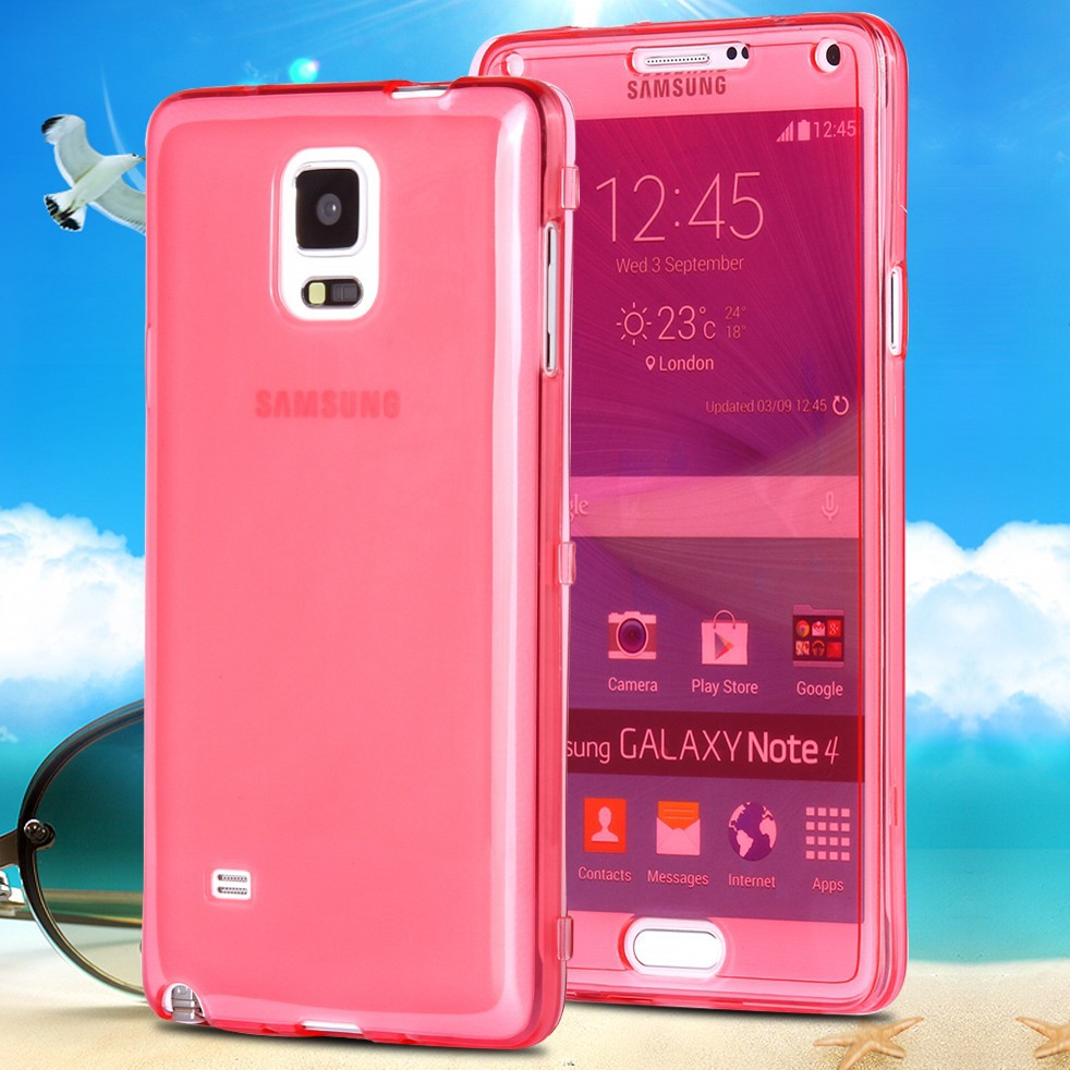 note 4 new fashion full body transparent flip cell phone. Black Bedroom Furniture Sets. Home Design Ideas