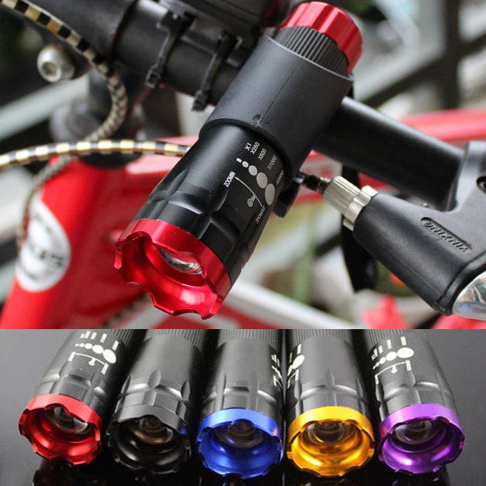 Фара для велосипеда New 5 , MTB CREE Q5 240 FL5000+FL1000
