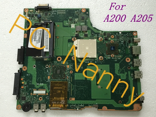 Genuine For Toshiba Satellite A200 A205 AMD Laptop AMD Motherboard s1 V000108790(China (Mainland))