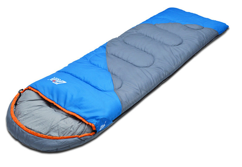 Free shipping outdoor camping adult Sleeping bag waterproof keep warm four seasons spring summer sleeping bag for Camping Travel(China (Mainland))