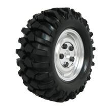 "4Pcs /lot 108mm Rock Crawler 1.9"" Tires & Alloy Wheel Rim Hex 12mm For 1/10 RC Hobby Car HPI AXIAL SCX10 Tamiya D90(China (Mainland))"