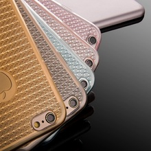 Phone Cases For iPhone SE 5 5S 6 6S 6 Plus Luxury Ultra Thin Bling Soft TPU Clear Logo Circle Protective Back Cover Phone Shell