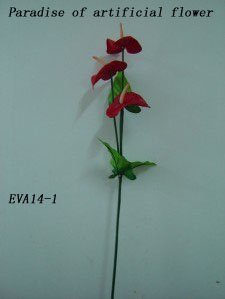 OEM design handmade silk decorative flowers & wreaths wholesale and retail (artificial flower)