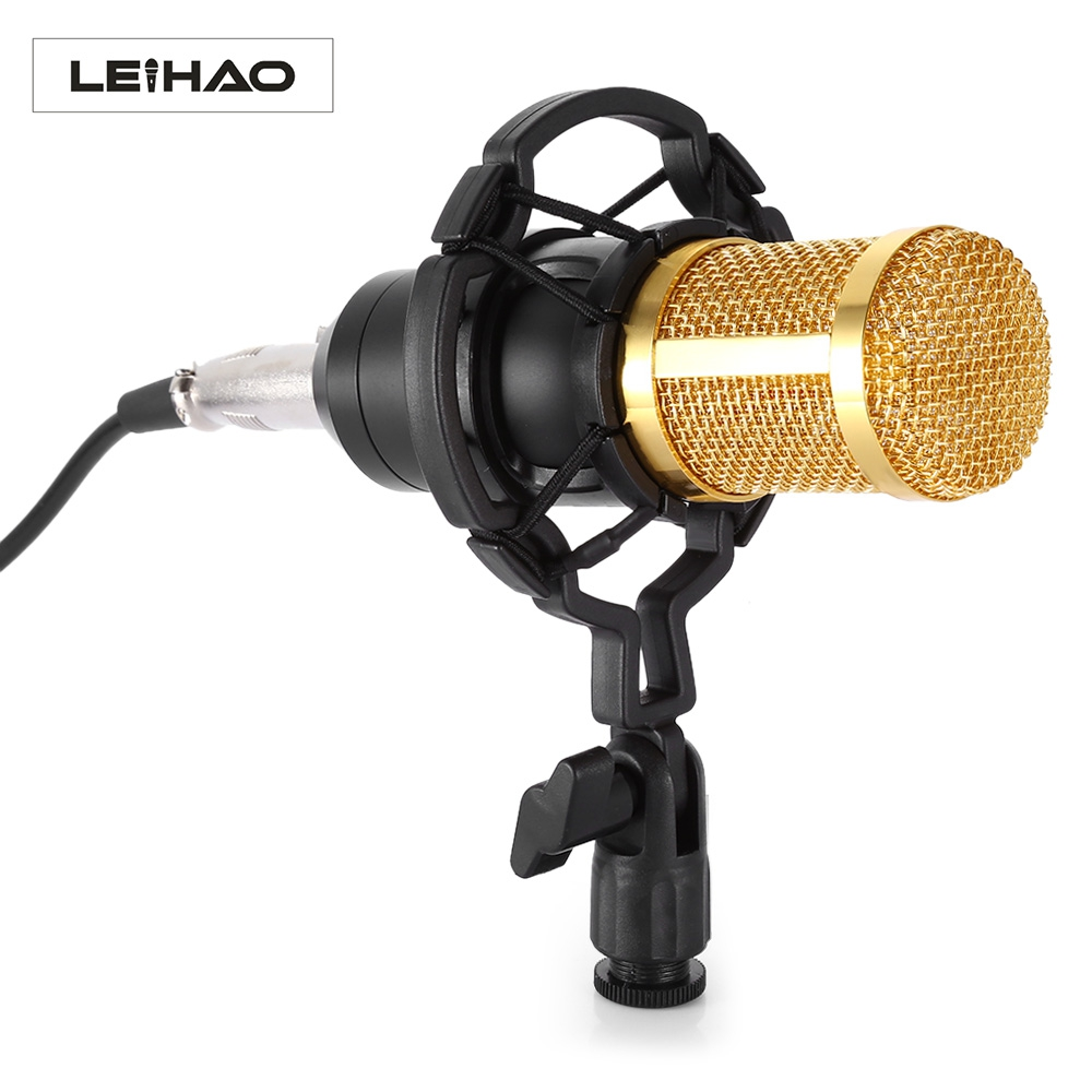 BM-800 Condenser Microphone Studio Sound Vocal Recording Microphone Broadcast And Studio Shock Mount Radio Microphones(China (Mainland))