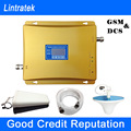 Lintratek Signal Boosters GSM 900 1800 LCD Display Dual Band Signal Repeater 900 1800MHz Mobile Phone