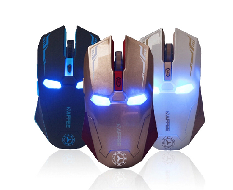 2.4GHz Wireless optical mouse Cordless Scroll Computer PC Mice with USB Dongle various color gaming mice 10m range(China (Mainland))