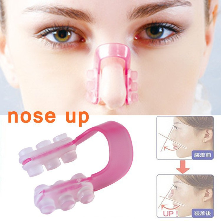Hot Sale Fashion Nose Up Shaping Shaper Lifting Bridge Straightening Beauty Nose Clip Face Fitness Facial Clipper corrector(China (Mainland))