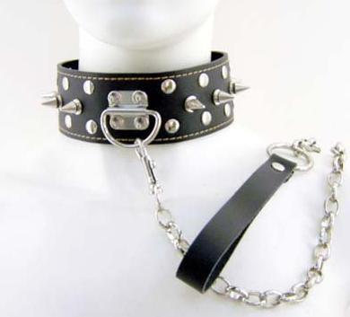 571 ring spike cervical collar, sex toys sources(China (Mainland))