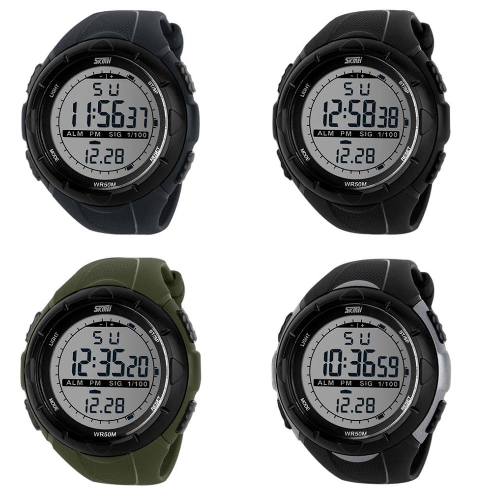 LED Digital Sports Watch Bracelet Rubber Band Watch Waterproof(China (Mainland))