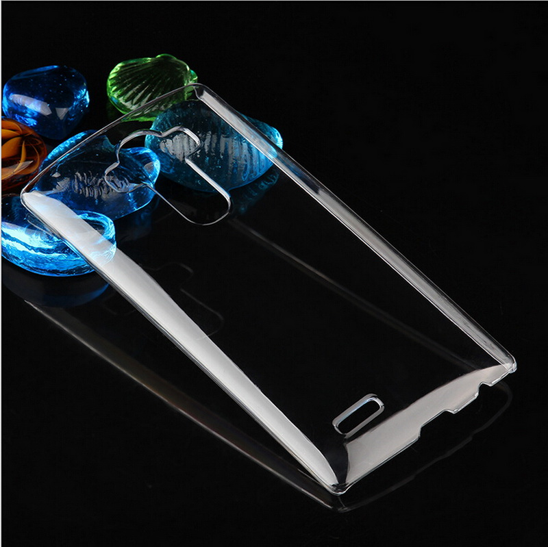 New Ultra Thin Back Slim Transparent Crystal Skin Cell Phone Clear Protective Hard Shell PC Case Cover For LG G4(China (Mainland))