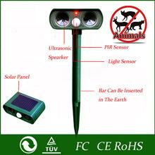 2016 di Alta Qualità Verde Giardino Gatto Cane Repeller Del Parassita di Energia solare Ultra Sonic Scarer Spaventare Animale Repellente Per Uso Esterno(China (Mainland))